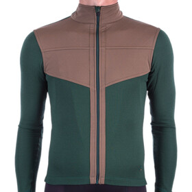 Isadore Long Sleeve Shield Jersey Men, sycamore green/brown